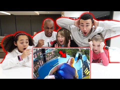 REACTING TO FUNNY FAILS! WITH MY FAMILY...