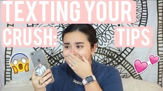Texting Your Crush: TIPS! | Stephanie Rodriguez