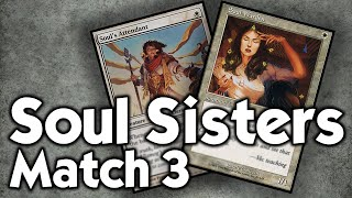 MTG Modern: Soul Sisters vs Death and Taxes, Match 3