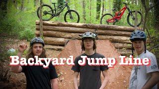 Private Backyard Jump Line