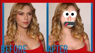 Avengers: Infinity War Photoshop FAILS! (Scarlett Johansson, Chris Pratt, Robert Downey Jr)
