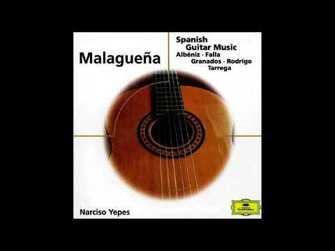 Narciso Yepes - Malagueña - 432Hz