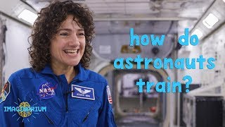 How Do NASA Astronauts Train?