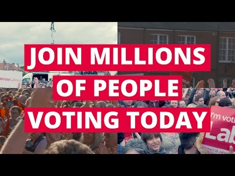 Vote Labour today for a fairer Britain