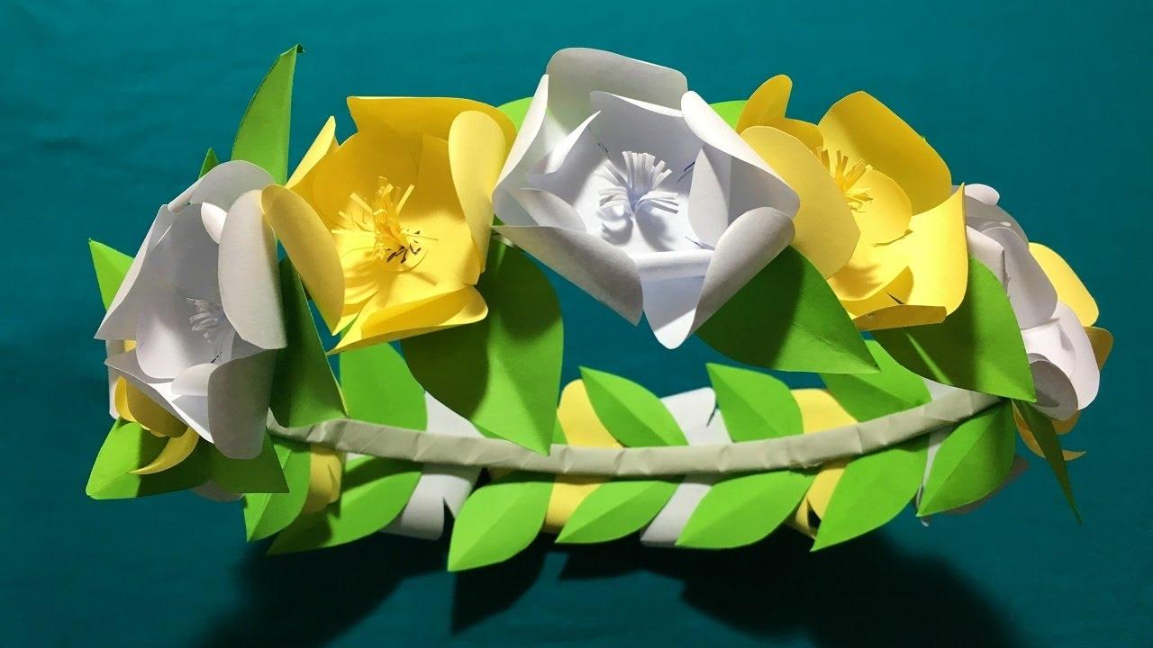 How to make diy snapchat flowers crown origamisnapchat flower crown how to make diy snapchat flowers crown origamisnapchat flower crown and diy tutorial mightylinksfo