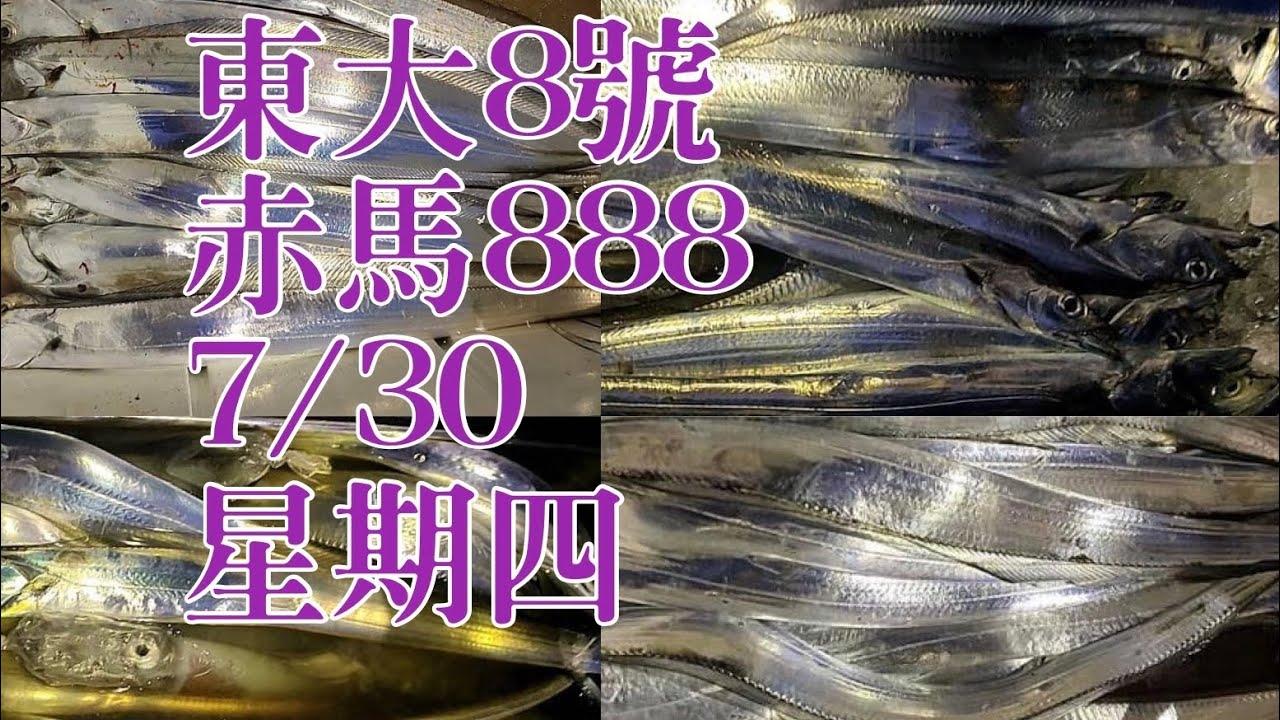7/30星期四東大8號與赤馬888(深澳漁港) 釣況之漁獲分享 感謝 琪琪 的照片漁獲可以讓大家看到 感謝