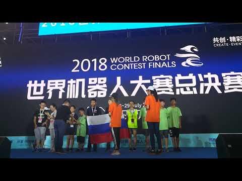 Robobcom2018, Wuhan, China, Russian Team, Novosibirsk, Technoprom2018, DoboSpace