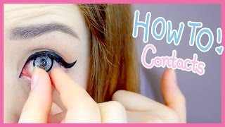The Easiest Way to Put in Contact Lenses (My Weird Method) thumbnail