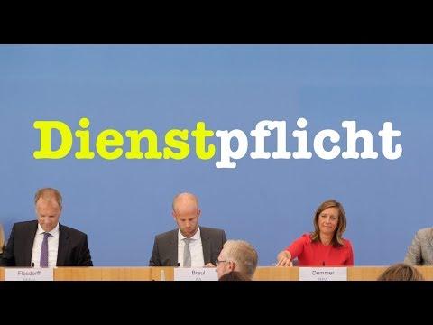 6. August 2018 - Bundespressekonferenz - RegPK