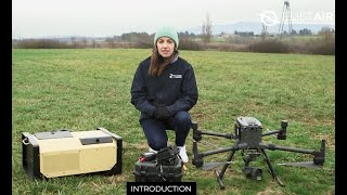 Elistair Tether Stations with the DJI M300 UAV