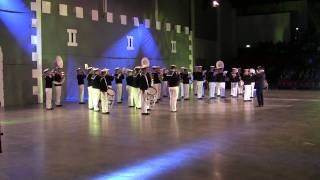 The Royal Swedish Navy Cadet Band at Fulda Military Tattoo (solo)