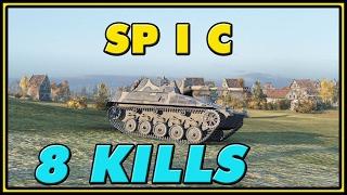 World of Tanks | Spähpanzer SP I C - 8 Kills - 5.4K Damage