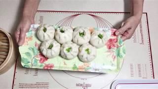 Cách Gói Xếp Bánh Bao Căn Bản - How To Wrap Fold Baozi Bun Dumpling