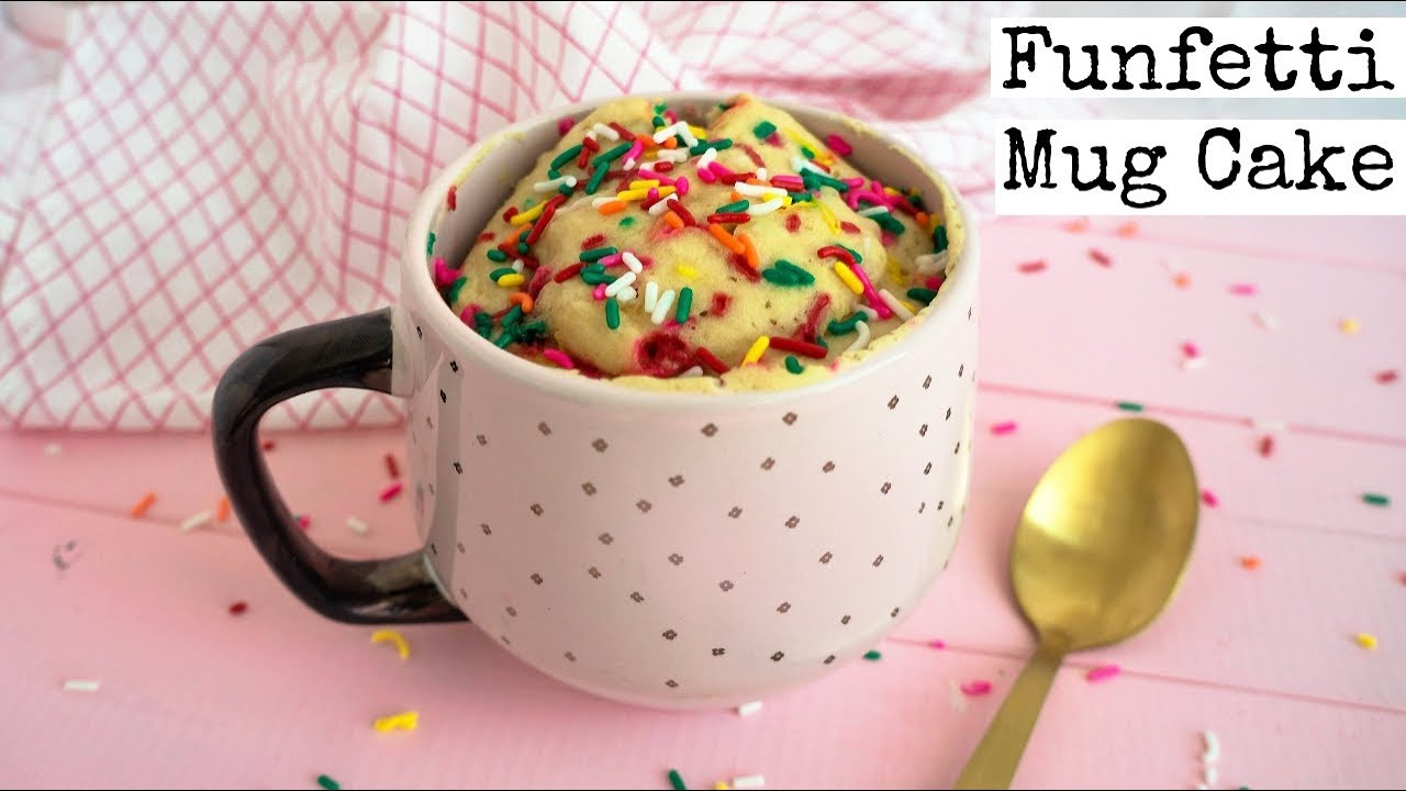 How To Make A Funfetti Mug Cake