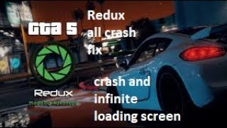 Redux All Crash Fix |Crash and Infinite Loading Screen 100% Working With Proof