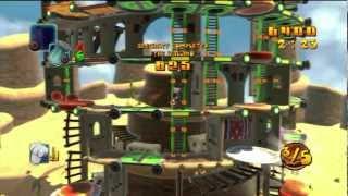 Burgertime World Tour (PS3) Gameplay