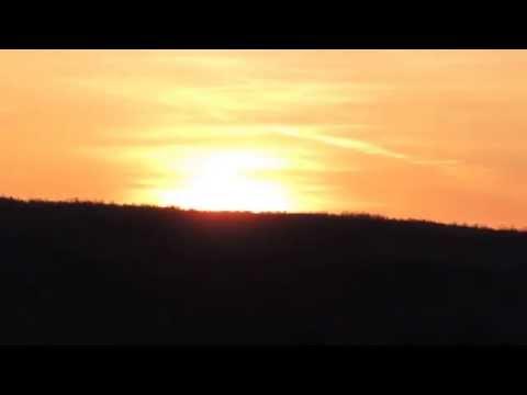 Восход солнца на Пасху.