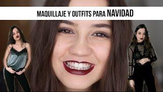 ¡Lista en NOCHEBUENA y cenas NAVIDEÑAS | Maquillaje & 3 Outfits