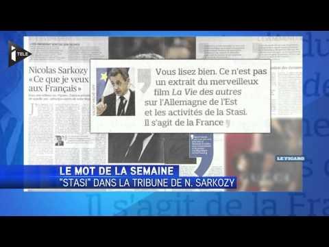 """""""Stasi"""", le mot de la semaine - Le 21/03/2014 à 18h00"""