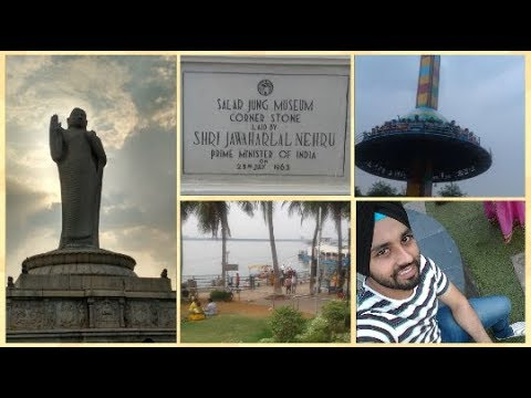Tour to Salar Jung Museum, Lumbini Park & Hussain Sagar lake of  Hyderabad.