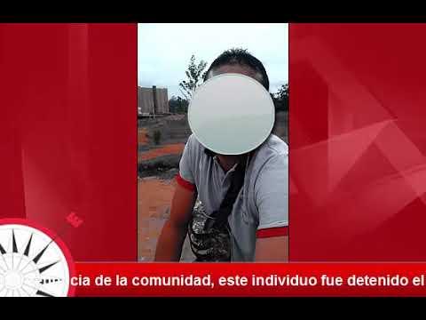 Hombre detenido por manosear a una mujer thumbnail