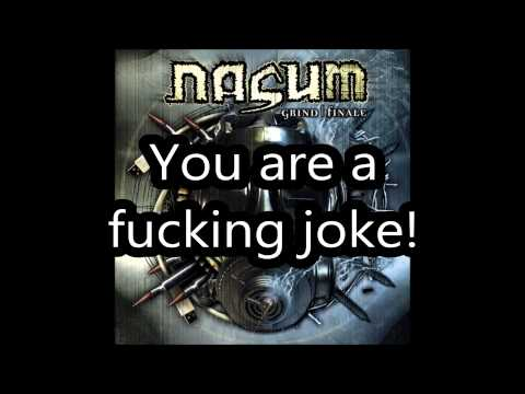 Nasum - Dis Sucks! (lyrics)