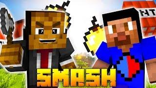 Minecraft SMASH (MY BEST ROUNDS EVER) Minigame w/ JeromeASF & Vikkstar
