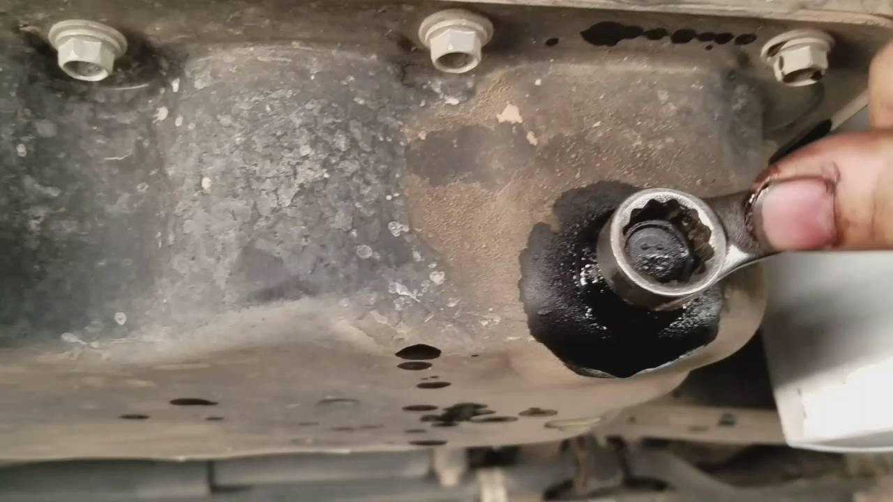 how to change oil on a 2011 2016 ford truck 6 7 liter diesel engine powerstroke youtube [ 1280 x 720 Pixel ]