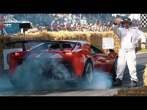 2019 Goodwood Festival of Speed BEST of Day 3 - FIRE, ID.R, P80/C, 911 RSR, KEN BLOCK & MORE