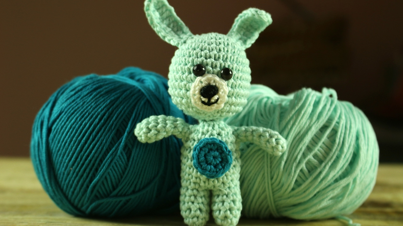 World Of Amigurumi : Coniglietto Amigurumi World Of Amigurumi - YouTube
