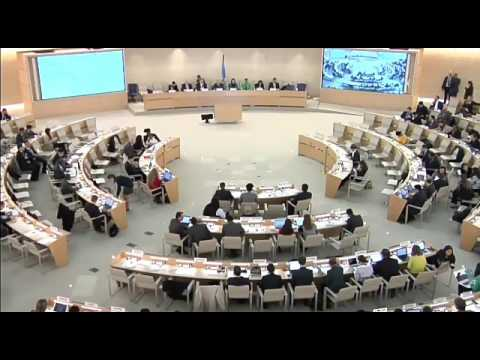 Anbumani speech at the #HRC34 of the #UNHRC  - March 22, 2017, #Geneva. Interactive Dialogue with Hi