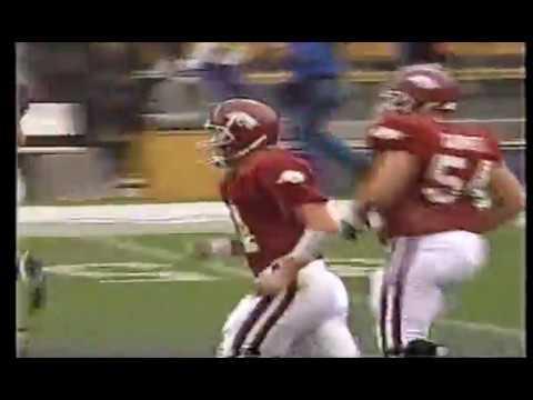 Clint Stoerner Back-to-Back 80 yard TDs at LSU (1997)