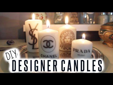Youtube Designer Logo Candle