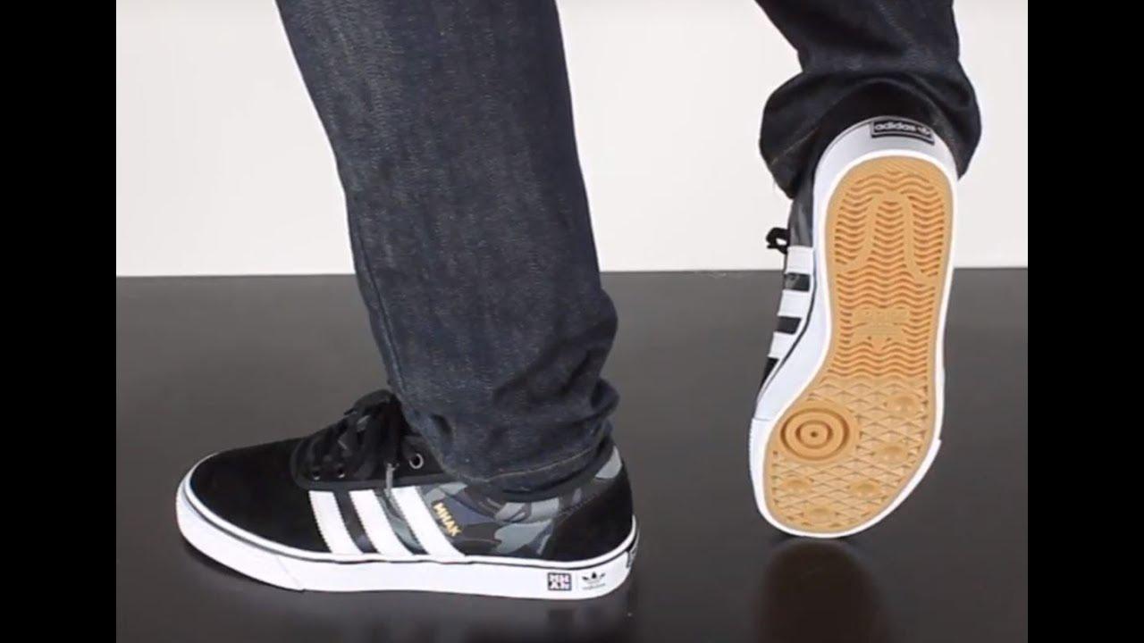 adidas skateboard dga - x mhak bianco nero da youtube
