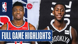 WIZARDS at NETS | FULL GAME HIGHLIGHTS | August 2, 2020