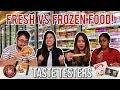 FRESH VS FROZEN SINGAPOREAN FOOD Taste Testers EP 20 mp3