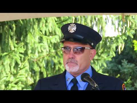 Retired NYC Firefighter Chris Edwards reflects on 9-11