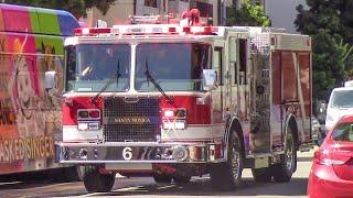 Santa Monica Fire Dept. Engine 6 (x2)