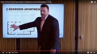 How to Pick the Best Apartments in Melbourne and Avoid Buying A Lemon – By Konrad Bobilak