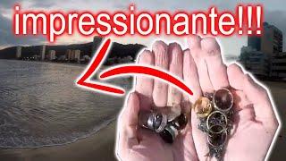 Caçando Joias e objetos metálicos nas praias # 08