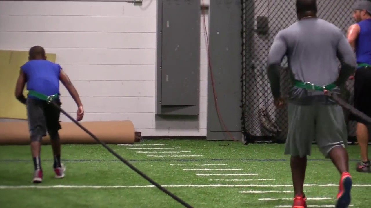 Nfl specific preseason training chip smith morr system youtube