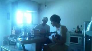 2011,8,27 家 my men ノリフミと早朝セッション 適当すぎ笑.