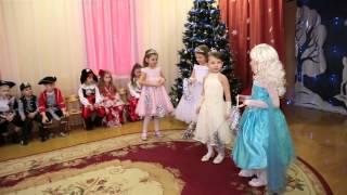Новогодний утренник в детском саду. 25.12.2014 г.