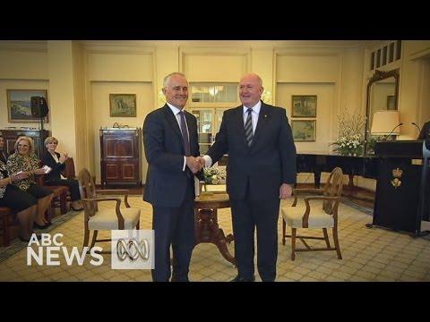 Malcolm Turnbull sworn in as Prime Minister