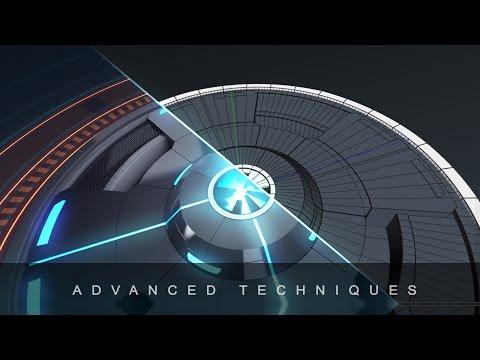 Cinema 4D Tutorial - Futuristic Neon Intro (Part 1)