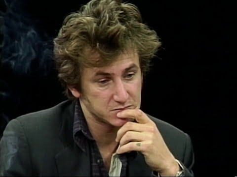 Sean Penn interview on Charlie Rose (1995)