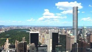 Superschmale Wolkenkratzer erobern New York Video
