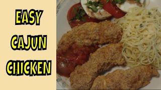 Easy Cajun Chicken
