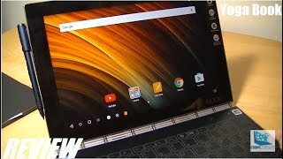 Review: Lenovo Yoga Book   Thin, Futuristic Laptop/tablet!