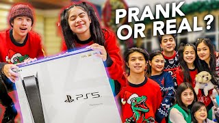 CHRISTMAS Day With FAMILY!! (PS5 Surprise?!) | Ranz and Niana